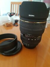 Sigma Zoom EX 15-30 D 1:3,5-4,5 DG Lens For NIKON