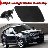 Right Front Bumper Headlight Washer Spray Nozzle Cover Cap For BMW X5 E7 +