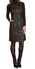 M&S Per Una Speziale Metallic Effect Shift Dress with Wool BNWT