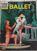1961 Ballet The How Y Why Wonder Books N.York IN4 Demuestra Color Buen Estado