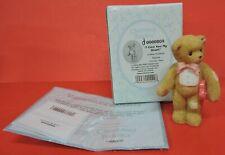 2004 Cherished Teddies I Give You My Heart Bear W/Bow Tie/Heart Figurine 0000809