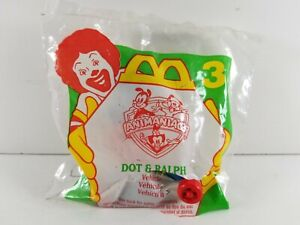 Happy Meal Animaniacs Dot and Ralph Character Toy McDonalds 1994 Ripped Bag