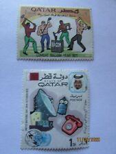 QATAR STAMPS : 1971+1972