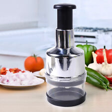 Kitchen Press Chopper Cutter Slicer Peeler Dicer Stainless Food Vegetable Onion