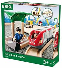 BRIO Rail and Road Travel Set UK POST FREE