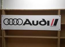 Audi Sport banner sign for workshop or garage, UR quattro, S1, sport