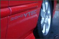 DOHC VTEC SET Honda Civic CRX Accord Tuning Sticker Aufkleber 40cm x 7cm