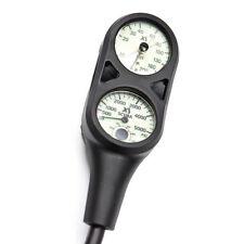 SCUBA Gauge - Combo Console, Pressure & Depth Gauge - XS Scuba GA201