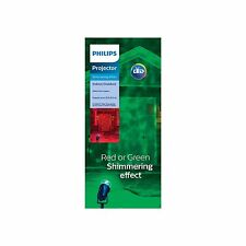 New Philips Red/Green Shimmering Effect Motion Light Projector Led Up to 20Ft
