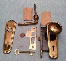Skillman French Door Mortise Lock 1-3/4 Backset Complete NOS
