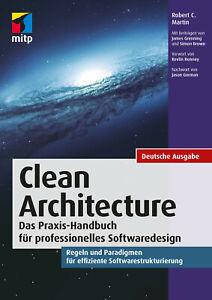 Clean Architecture - Prof. Softwaredesign, Dt. Ausgabe - Neu & direkt vom Verlag