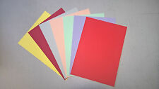 A4 Coloured Card 160gsm Pack of 20 sheets