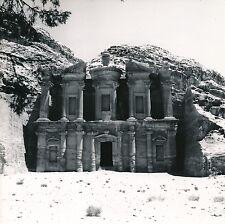 JORDANIE c. 1960  -  Le Deir  Pétra - DIV8463