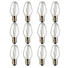 12-Pack, 15 Watt Wax Melt Warmer Light Bulbs for Scentsy Plug-in Nightlight