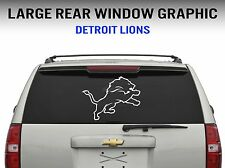 """Detriot Lions Window Decal Graphic Sticker Car Truck SUV - Large 22"""" Wide"""