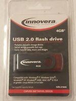 Innovera Technology Essentials 4 GB USB 2.0 Flash Drive