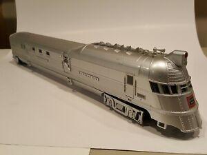 MTH O Premier Pioneer Burlington Zephyr Diesel Passenger SetPro-to-Sound 2.0 3RL
