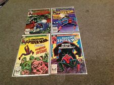 AMAZING SPIDER-MAN COMICS LOT! 226-337 AND MORE!  FIRST APPEARANCE OF CAPTAIN MA
