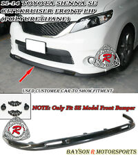 SK-Style Front Lip (Urethane) Fits 11-17 Toyota Sienna [SE Model Only]