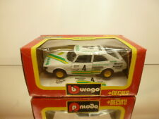 BBURAGO 9107 SAAB 900 TURBO - SONAB #4 - WHITE 1:24 - VERY GOOD IN BOX