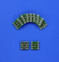 10 PCS SO8 SOIC8 SMD to DIP8 Adapter PCB Board Convertor Double Sides