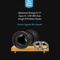 YT Capra AL 1 2015 Bottom bracket replacement bearings Quantity x 2 Sram PF30