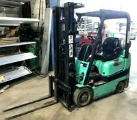 MITSUBISHI  LPG 3,500 Lb Cushion Tire Forklift  Model FGC18K