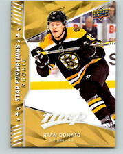 (HCW) 2018-19 Upper Deck MVP Star Formations Rookie Ryan Donato NHL 07754