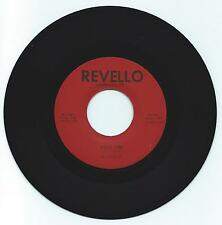 DOO WOP 45  THE EL VIREOS FIRST KISS  ON REVELLO  STRONG VG REPRO
