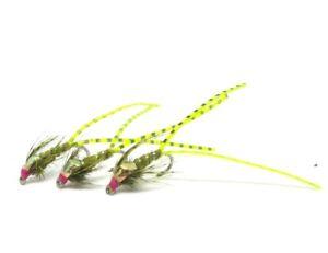 Hot Spot Flexi Leg Damsels Stillwater Lake Brown Rainbow Trout Flies Nymphs
