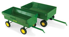 John Deere 1/16 Scale Vintage Flarebox Wagon Diecast Farm Implement TBE37171B