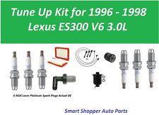 Tune Up for 1996 1997 Lexus ES300 PCV Valve, OIl Fil Air Fuel Filter, Spark Plug