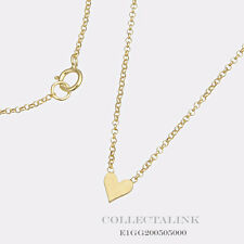 """Authentic Dogeared Gold Dipped Whispers Heart Necklace 18"""" E1GG200505000"""