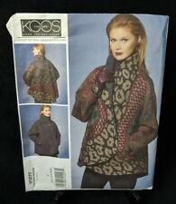 Vogue Sewing Pattern V1277 Koos Van Den Akker Couture Reversible Jacket XS-M NEW