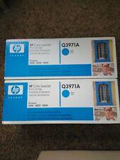 Genuine HP Color LaserJet 2550 2820 2840 Toner Q3961A HP122A. C & M