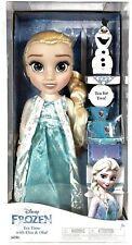 Jakks Pacific Disney Frozen Princesa Elsa 35 cm y Olaf con Set de Té para Dos Te