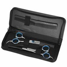 5 pezzi Forbici Professionali Capelli per Sfoltire Dentata Liscia Parrucchiere