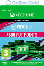 4600 FUT Points FIFA 19 - Xbox One Ultimate Team - FIFA FUT Points 4600 Code