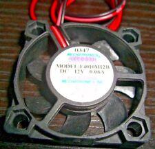 F4010M12B MECHATRONICS FAN 40X10mm 2 WIRE DC BRUSHLESS 12V .06A