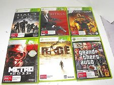 Rage-Halo-Grand Theft Auto-Metro-Hitman-Gears Of War 6 Great Xbox 360 Games