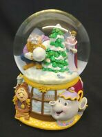 Disney Princess Belle Beauty & the Beast Musical Water Globe Christmas with Box