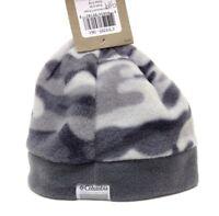 Columbia Camo Mountain Beanie Grey Junior Youth Warm Winter Hat   A342