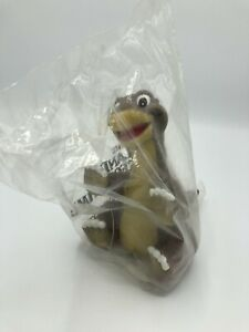 RARE! The Land Before Time LITTLE FOOT VINTAGE 1988 Hand Puppet PIZZA HUT