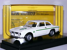 Progetto K 062 1963 Alfa Romeo Guilia GTA Junior White 1/43