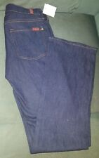 NEW WITH TAGS Seven -7-JEANS Denim Cotton Bootcut Pants Sz 28EU 0-2US MADE USA