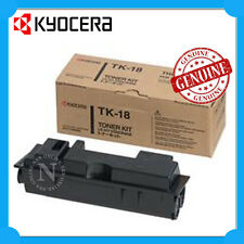 Kyocera Genuine TK-18H BLACK Toner Cartridge for FS-1020D/FS-1020DN/FS-1118MFP