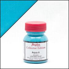 NUOVO ANGELUS Brand Pelle in Vernice Acrilica per Scarpe/Scarpe Da Ginnastica-Aqua 8 - 1oz