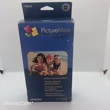 Epson T5570-M PictureMate Print Pack. 100 Photo Paper. Expired. Read