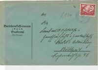 germany 1934 wagners opera stamps cover ref 20076