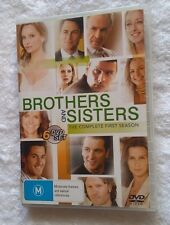 Brothers And Sisters : Season 1 (DVD, 2007, 4-Disc) VERY GOOD, FREE POSTAGE